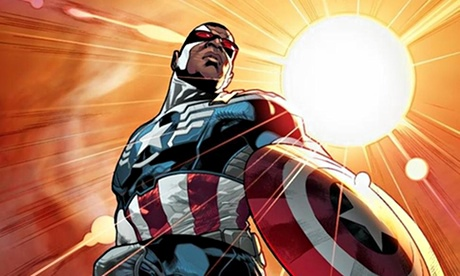 Captain America Falcon Marvel Are Turning Comics Upside Down With Gender And Race Swaps