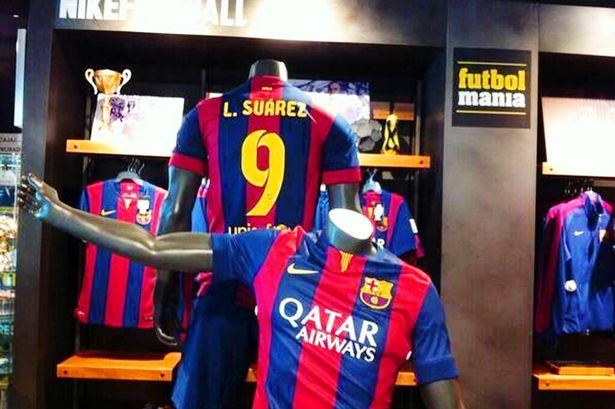 Luis-Suarez-Barca shirt