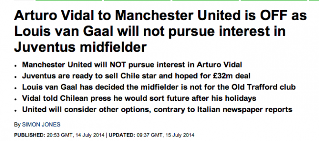 Screen Shot 2014 07 16 at 10.43.31 Transfer Balls: Arturo Vidal Gets Manchester United Shoved In His Mouth
