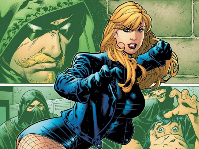 black canary The Greatest Female Superheroes!