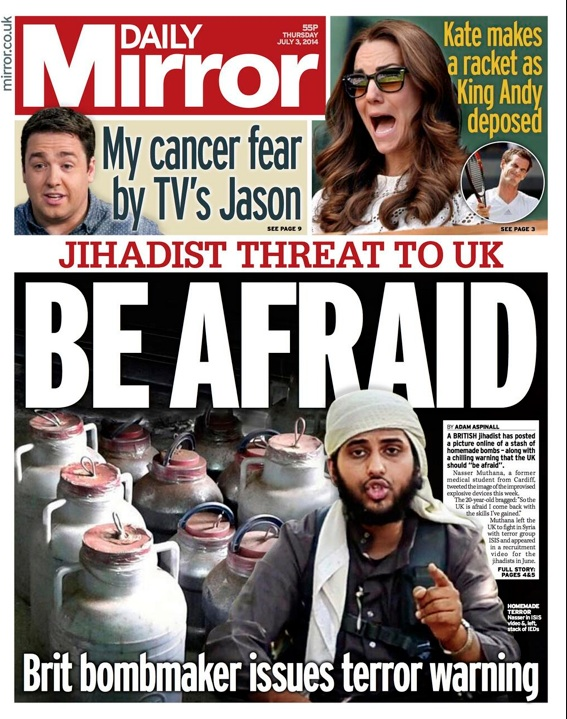 isis Time For The British Police Arrest ISIS Trolls And Other Existential Threats