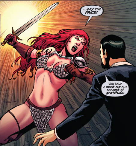 red sonja The Greatest Female Superheroes!