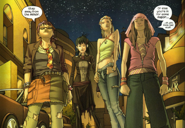 runaways The Greatest Female Superheroes!
