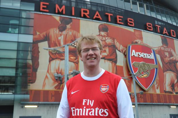 Durham1 Adrian Durham's Devotion To Arsenal Sets The Benchmark For True Gunners Everywhere