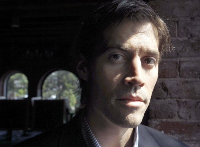 American journalist James Foley, of Rochester, N.H., poses for a photo in Boston
