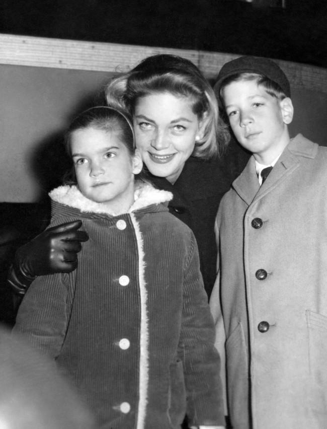 Anorak News | Lauren Bacall In Rare And Wonderful Photos ... Lauren Bacall Children