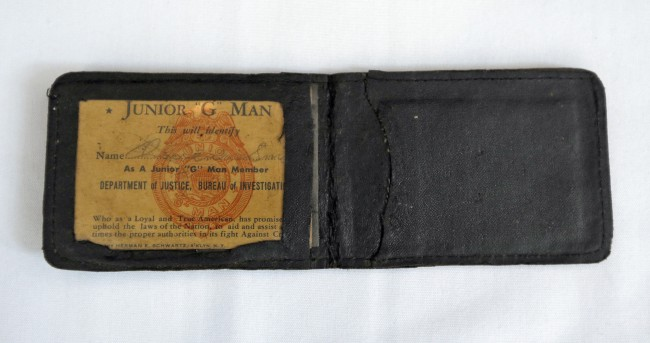 A wallet owned by George Owen Smith
