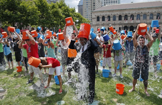 PA 20592820 Small World Theory: The ALS Icebucket Challenge And Six Degrees Of Separation