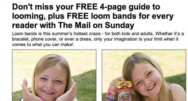 Screen shot 2014 08 20 at 13.12.12 Loom Mongers: The Daily Mail Says Loom Bands Give You Cancer, Kill Turtles And Maim Your Kids