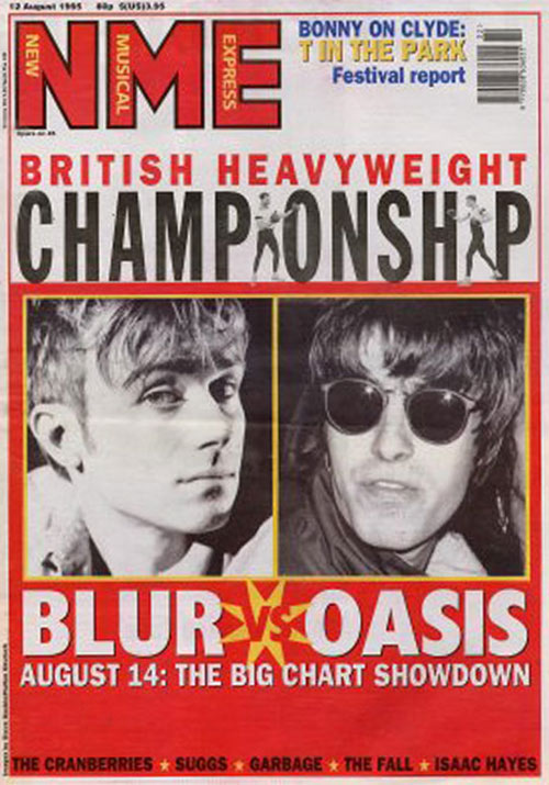 oasis vs blur August 26 1995: The Day That Britpop Died