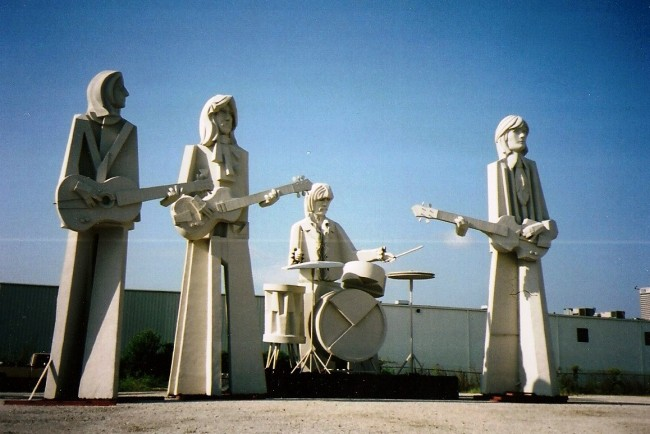 the beatles statue Hit or Bust: A Look At Pop Stars Immortalised In Statues