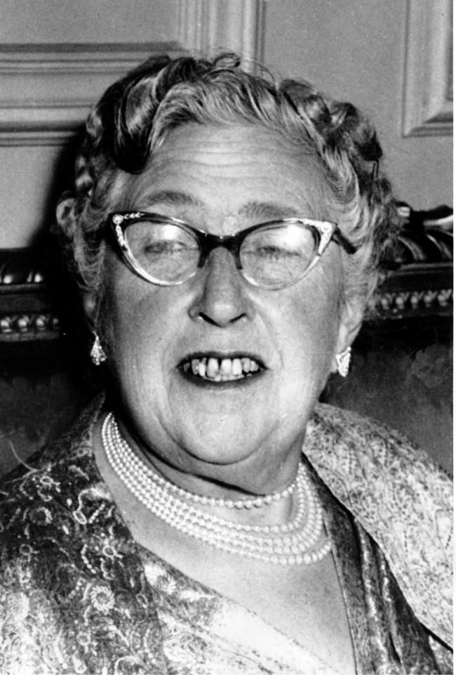 Agatha Christie 1956 PA-8671050