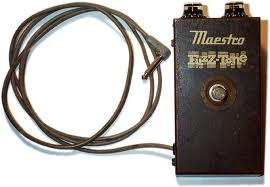 Gibson Maestro Fuzz Pedal.