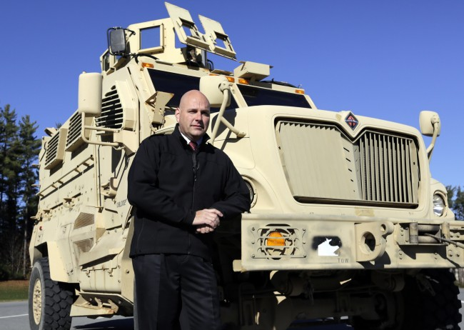 PA 18293647 LA School District Surrenders The Grenade Launcher The Pentagon Donated But Keeps MRAP