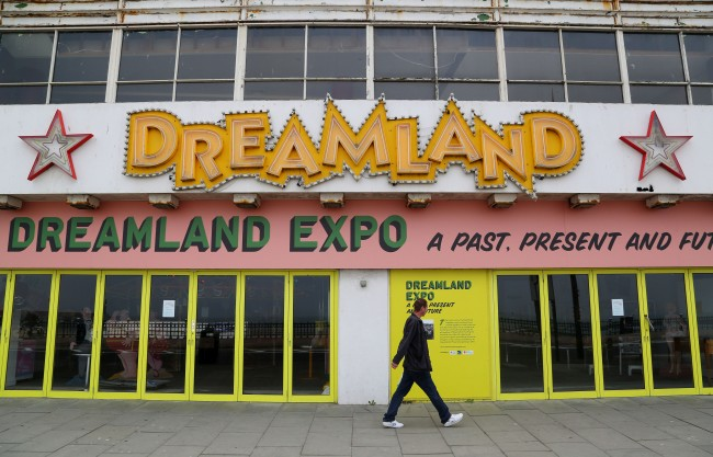 PA 20967938 Living In Dreamland: A Look Around Britians Oldest Surviving Rollercoster And Theme Park In Margate