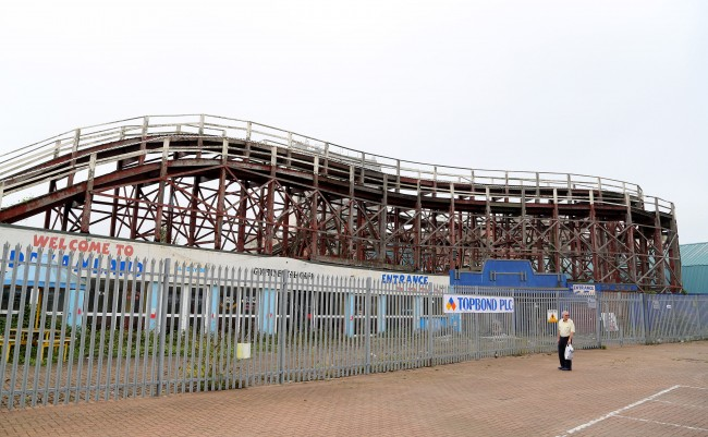 PA 20967939 Living In Dreamland: A Look Around Britians Oldest Surviving Rollercoster And Theme Park In Margate