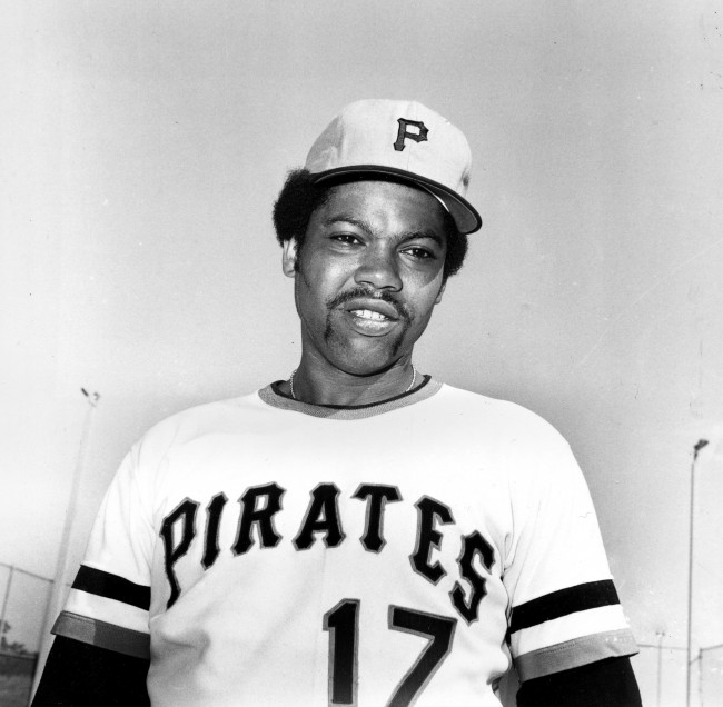 Pittsburgh Pirates pitcher Dock Ellis (17) is shown in Bradenton, Fla., Feb. 1974, during spring training.