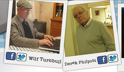 Wilf Turnbull and Derek Philpott