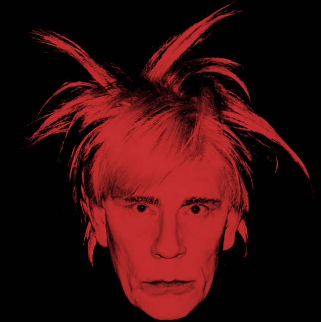 Andy Warhol / Self Portrait (Fright Wig) (1986)
