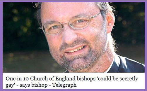 bishops gay One In 10 Church of England Bishops Could Be Secretly Straight