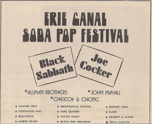 eric canal The Erie Canal Soda Pop Festival 1972: Possibly The Worst Music Gathering in History