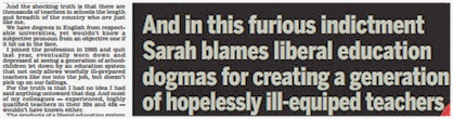 fail mail Daily Mail Fail: Lovely Typo In Story Blaming Liberals For Ruining Education