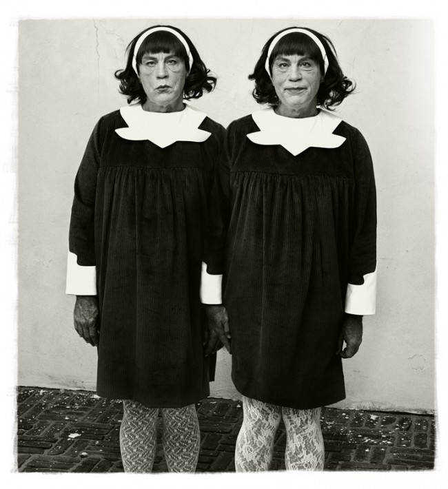 Diane Arbus, Identical Twins, Roselle, New Jersey (1967)