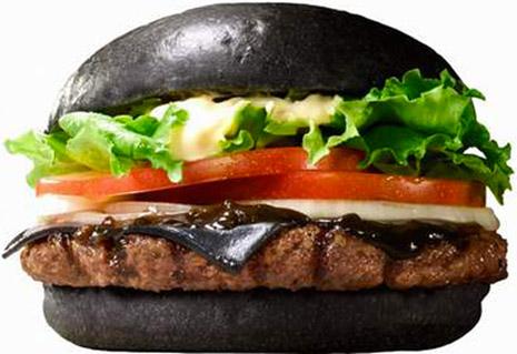 mood burger 1 The All Black Burger King Burger Reflects Diners Dark Moods