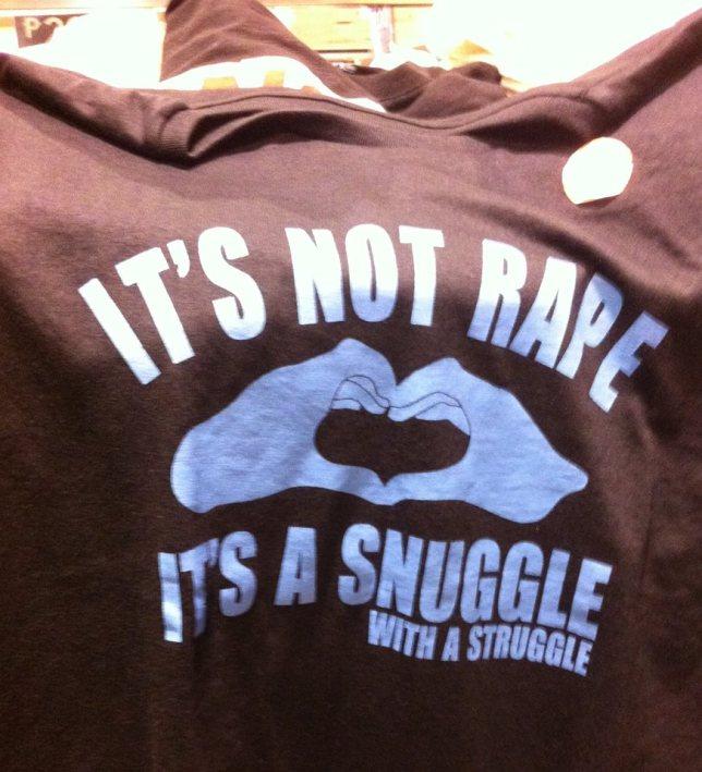 Rape T-shirt SM