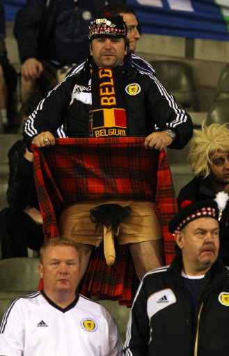 Soccer - 2014 FIFA World Cup - Qualifier - Group A - Belgium v Scotland - King Baudouin Stadium
