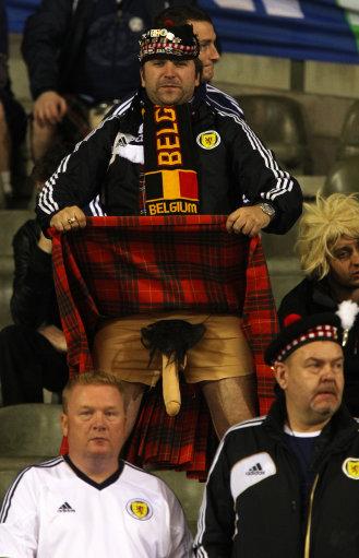 Soccer - 2014 FIFA World Cup - Qualifier - Group A - Belgium v Scotland - King Baudouin Stadium