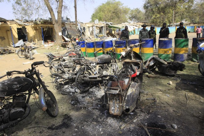 PA 12576423 Boko Haram And The War On Nigerias Islamists: A Photo Essay