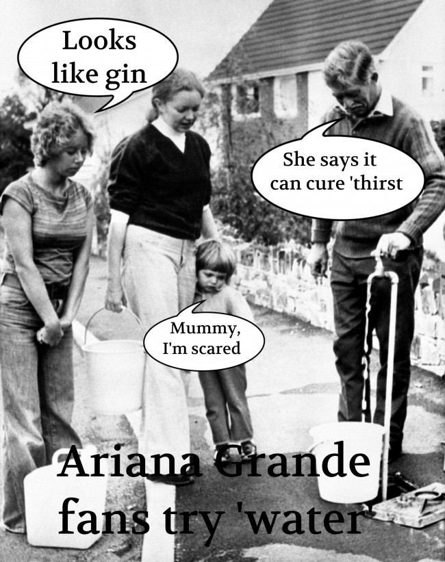 PA 3355360 11 Pop Water: Ariana Grande Contemplates Name Change