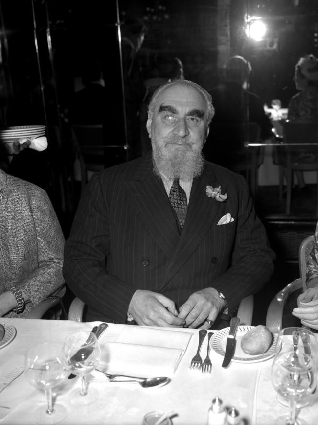 Philanthropist and bon viveur, Nubar Gulbenkian Ref #: PA.4323751  Date: 04/05/1961