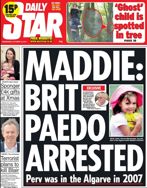 Screen shot 2014 10 15 at 09.14.03 Madeleine McCann: Roderick Macdonald, Brighton Victims And A Ghost Child