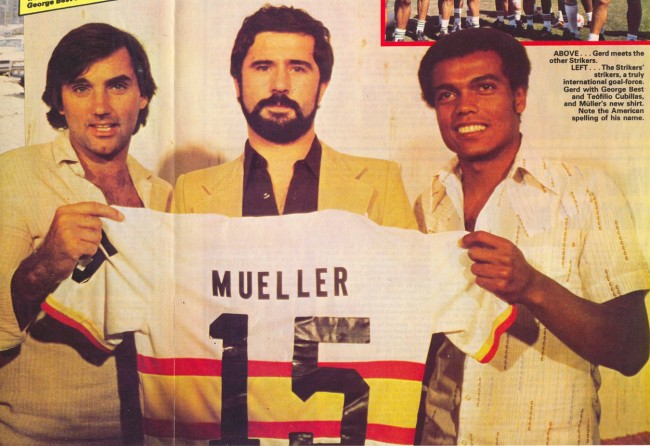 Strikers 79 Home Back Gerd Mueller American Soccers Greatest Players: When Football Went Disco