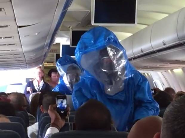 ebola Never Shout I Have EBOLA On A Crowded Plane Because This Is What Happens