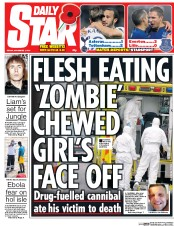 Daily Star 7 11 2014 Matthew Williams Caerphilly Cannibal: Did Police Arrest A Man Theyd Just Killed?