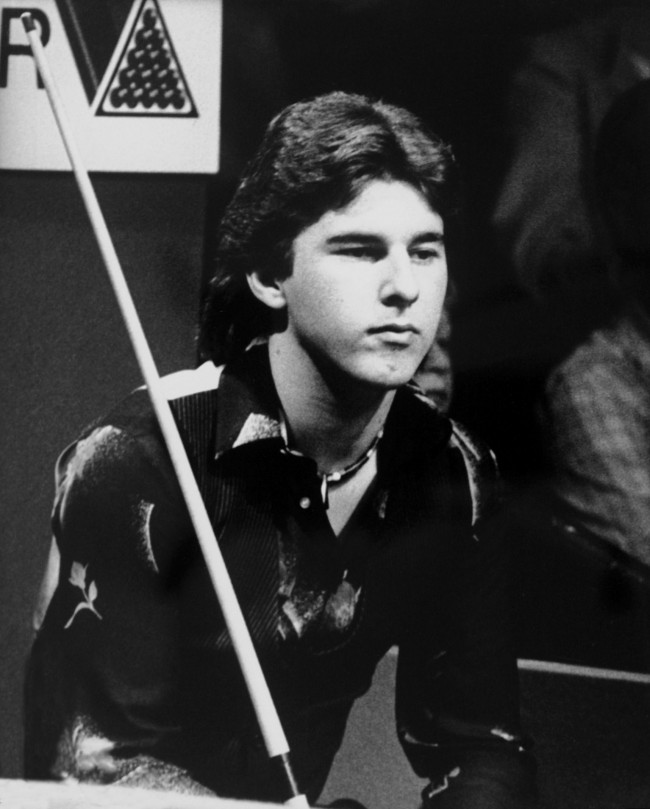 Snooker - Embassy World Championship - Crucible Theatre, Sheffield Kirk Stevens NULL Ref #: PA.509111  Date: 11/05/1982