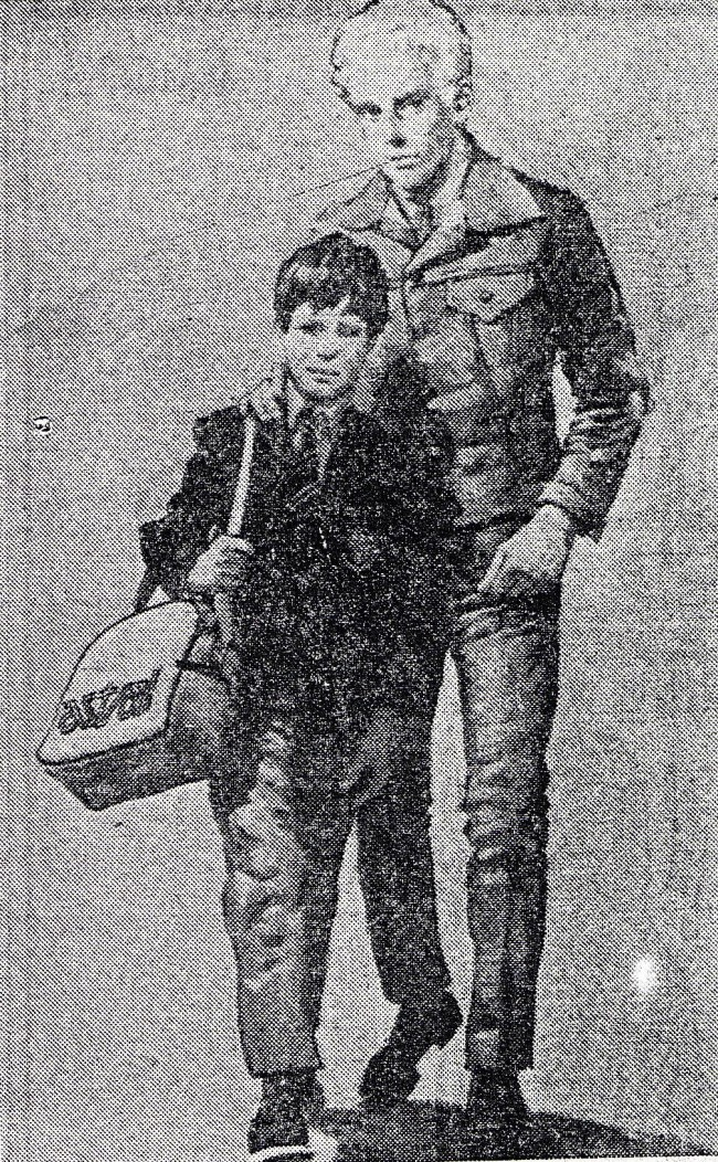 Metropolitan Police undated handout photo of an artist impression of a man and a boy originally distributed in January 1980 following the disappearance of fifteen-year-old Martin Allen.