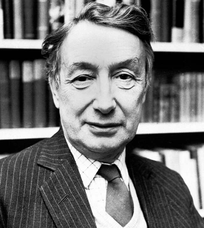 Sir Alfred Ayer, 64, Wykeham professor of logic at Oxford University and one of England's leading humanists is shown in this December 12, 1974, photo. (AP Photo)