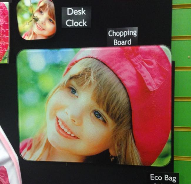 child chopping baord