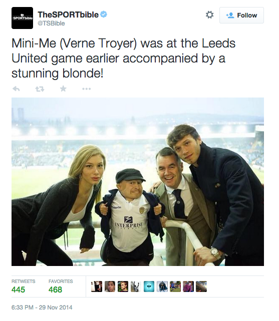 Screen shot 2014 11 30 at 12.36.01 Verne Troyer, Leeds United And The Nameless Blonde Accessories