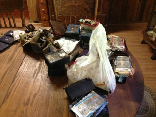 11 So. I found a secret capsule full of treasure in a Tennessee wardrobe