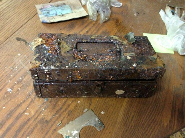 20 So. I found a secret capsule full of treasure in a Tennessee wardrobe