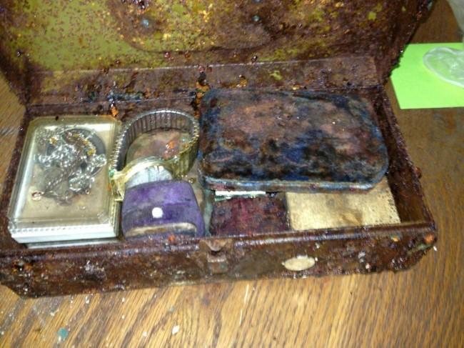 21 So. I found a secret capsule full of treasure in a Tennessee wardrobe
