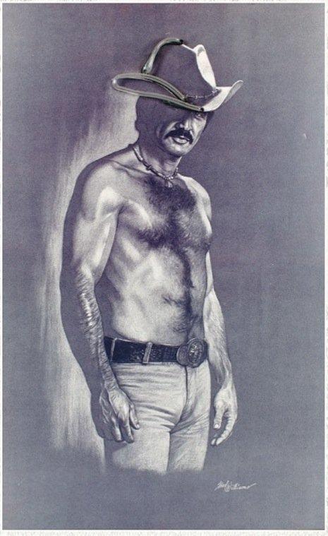 Burt Reynolds naked torso painting, opening bid $800-1200