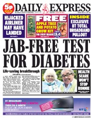 Daily Express 17 3 2014 Tabloid Tropes: The Daily Express cured Diabetes in 2014