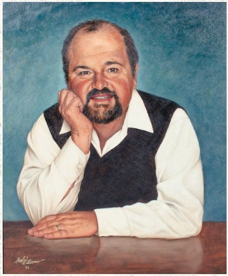 Dom DeLuise painting, opening bid $1500-2000