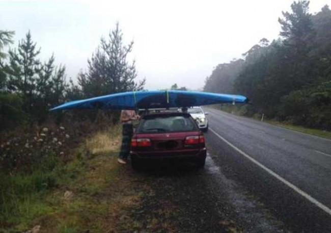 Kayak roof